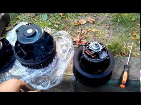 Замена мотора печки форд фокус 2