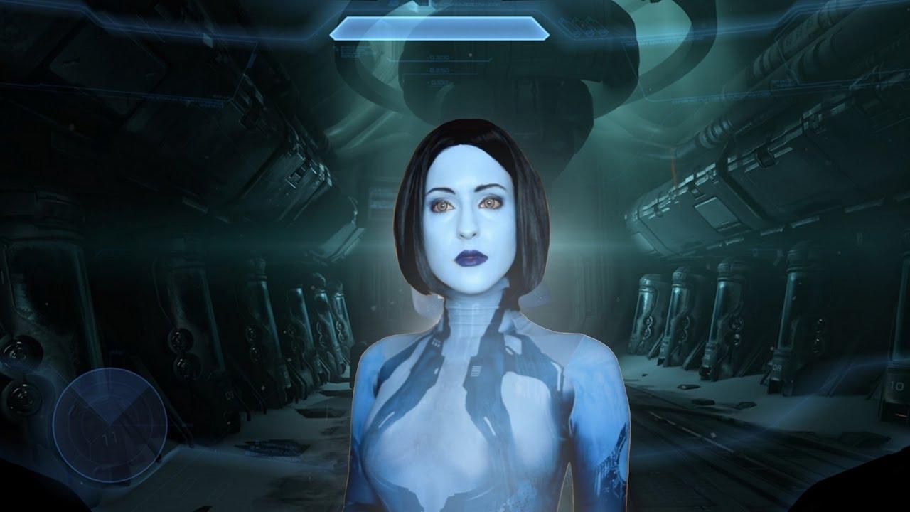 Cortana Cosplay Makeup Test Youtube