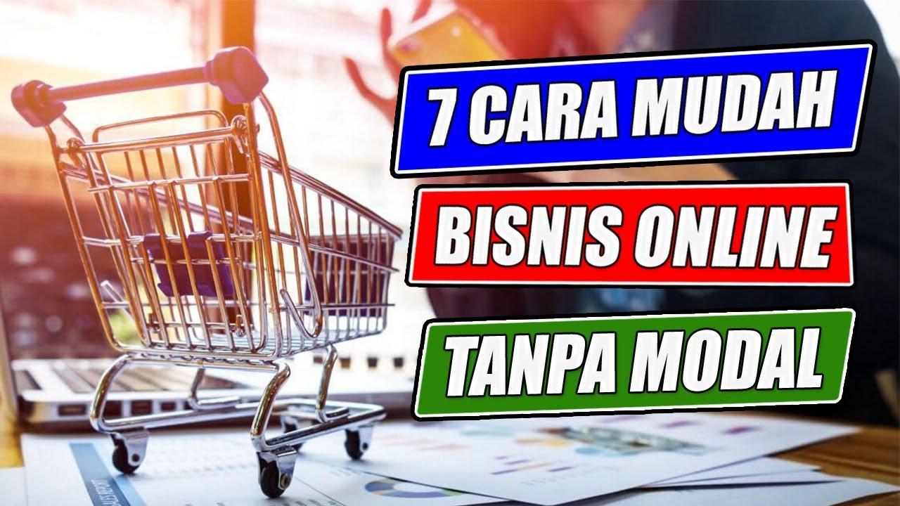 7 CARA MUDAH BISNIS ONLINE TANPA MODAL SISTEM DROPSHIP ...