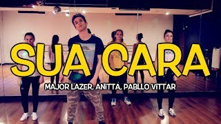 &quotSUA CARA&quot - Major Lazer feat. Anitta, Pabllo Vittar Dance Video Andrew Heart Ch ...