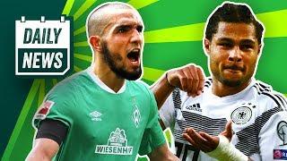 Halstenberg & Gnabry retten Deutschland vor Blamage!