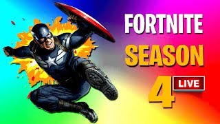 💰 FORTNITE SEASON 4 BATTLE PASS KOPEN !! 💰 15.000 V-BUCKS !! | 🔴 Stream Playback 1-5-2018