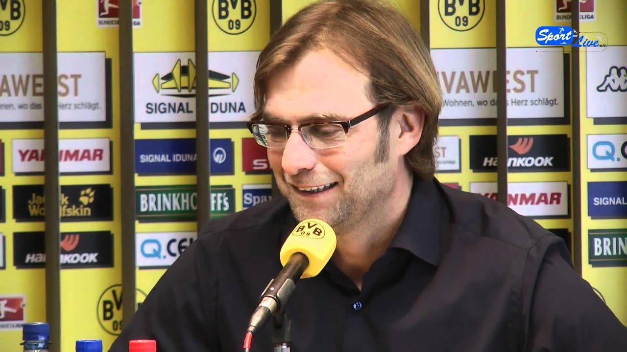Hertha BSC - Borussia Dortmund - Pressekonferenz mit Jürgen Klopp Teil 2