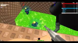 Playing Roblox-Paintball!