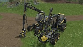 Farming Simulator 17 - Forestry Equipment - Ponsse ScorpionKing - Ponsse Buffalo