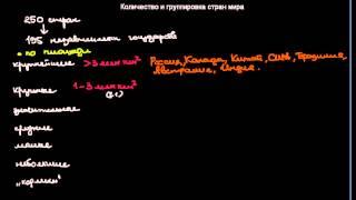 видео 9) Классификация стран по уровню социально-экономического развития.
