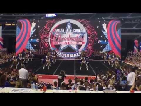 Dallas Cowboys Cheerleaders at Spirit Celebration Farewell