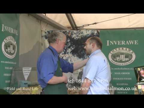 Inverawe Smokehouses at Badminton Horse Trials - Smoked Salmon