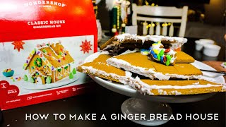 How to make a Ginger Bread House (Fail)
