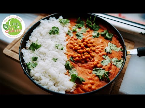 Easy Indian Recipe For Beginners - Vegan Chana Masala