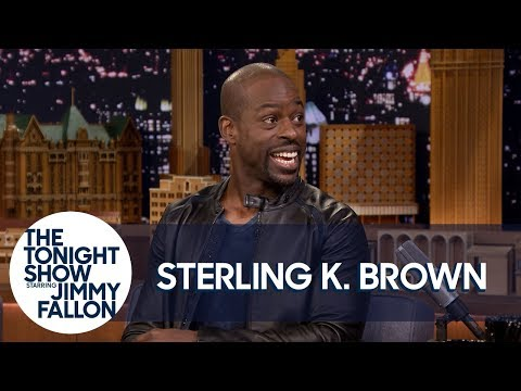 Sterling K. Brown Overdoes It with Baby Powder Sometimes