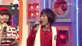 hongki singing diva by after school