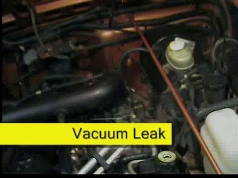 Cruise HVAC Controls Vacuum Leak Fix Jeep Wrangler TJ