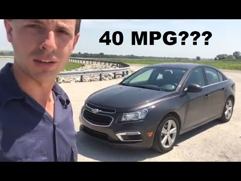 Will a Gas Chevy Cruze get 40 MPG?