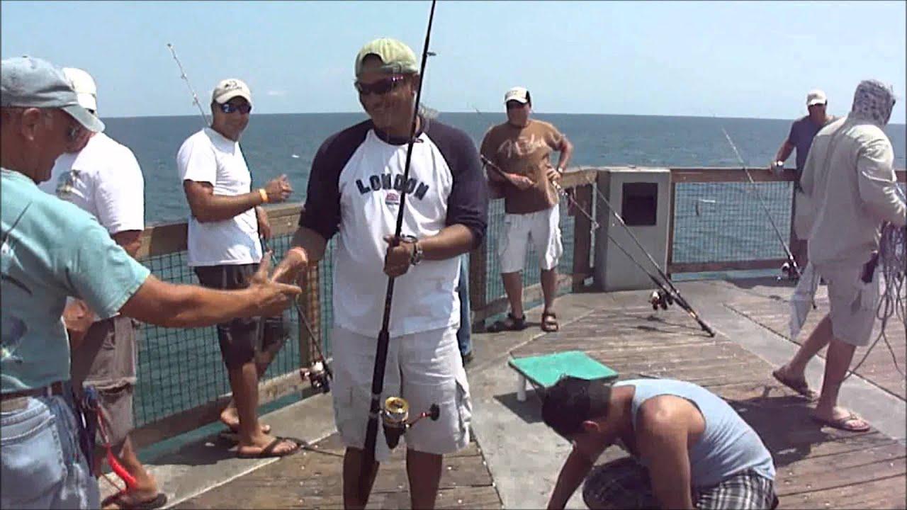 7 9 11 Navarre Beach Fishing Pier Youtube