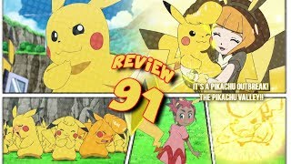 ☆THE LOVE TRIANGLE!...& PIKACHU IS NOT DENSE?! // Pokemon Sun & Moon Episode 91 Review☆