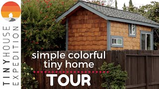 Author's Creative Tiny House Parked In Sf Bay Area, $300/mo