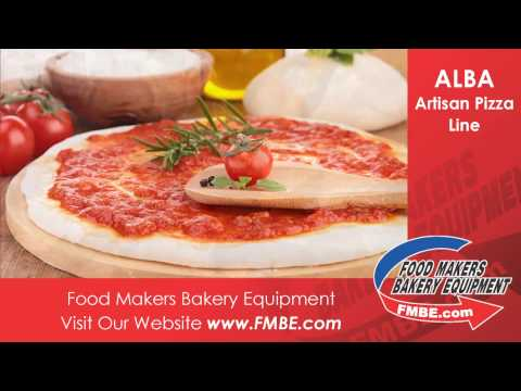 ALBA Artisan Pizza Line | Food Makers Bakery Equip