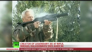 Inventor of iconic AK-47  assault rifle Mikhail Kalashnikov dies at 94
