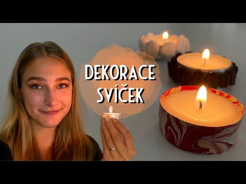 10+ způsobů dekorace čajových svíček | relax | DIY