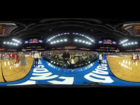 Grant Hill and Tracy Wolfson: 360 degree look at the Final Four Friday