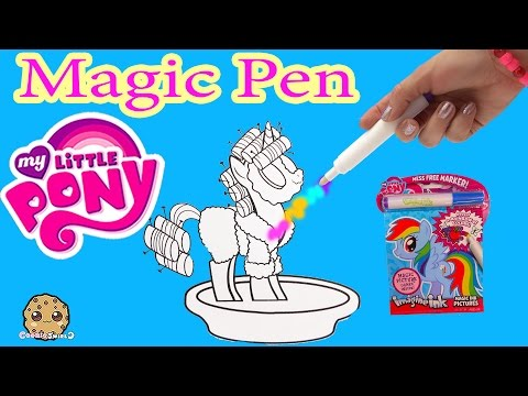 Thumbnail: My Little Pony Imagine Ink Rainbow Color Pen Art Book with Surprise Pictures Cookieswirlc Video