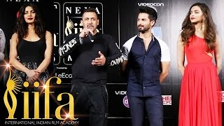 IIFA Awards 2016 Madrid Press Conference | Salman Khan, Deepika Padukone, Priyanka Chopra