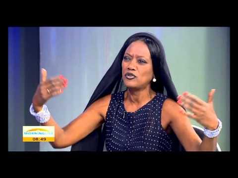 Khadja Nin a Burundian vocalist on AU summit