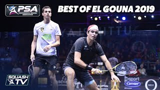 Squash: The Best Shots and Rallies from El Gouna 2019