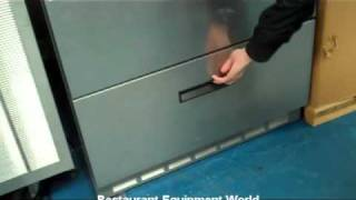 Used Delfield Ucd4432n Refrigerator - Like New For Sale