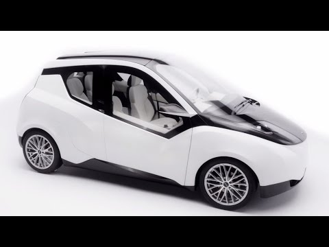 UPM and Metropolia proudly present: The Biofore Concept Car