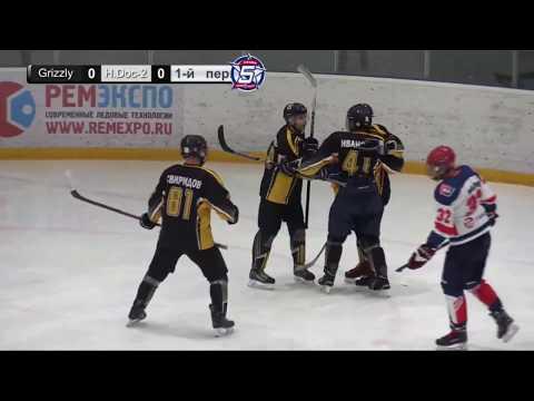 Игра за 3е место малого кубка Grizzly Team - Hockey Doctors-2 | 20.04.19