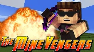 Minecraft MineVengers - TRAINING WITH HAWKEYE!!