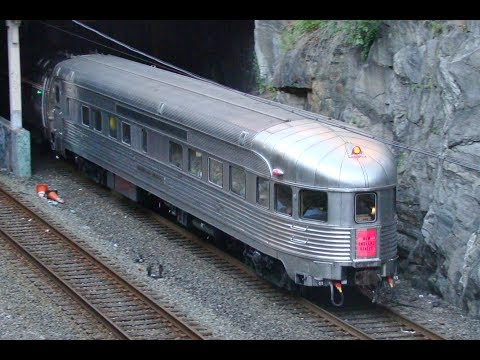 NYC Observations Cars on Amtrak's Empire Connector (June 2017)