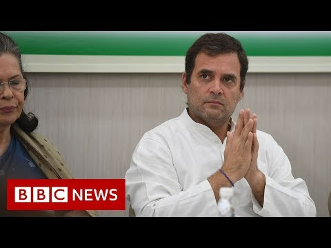 Rahul Gandhi quits as India opposition leader - BBC News