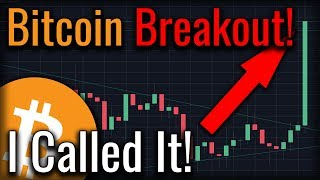 Bitcoin Is Breaking BULLISH And I Called It! (Here's How)
