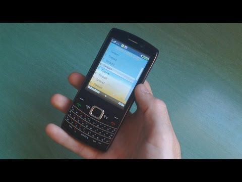 Chinese dual sim TV cell phone 9980 review (ringtones and others)