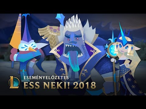 Holnap Ess neki  Ess neki 2018-as eseményelőzetes – League of Legends