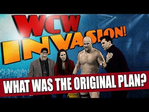 WCW/ECW Invasion: What Was Really Supposed to Happen!? (REVEALED)