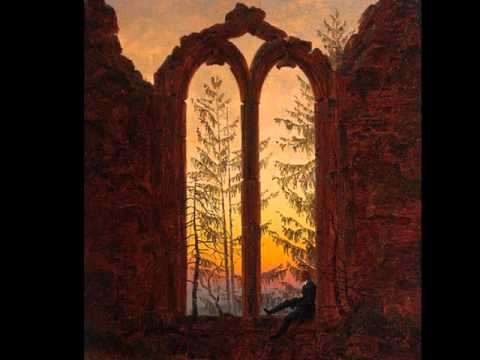 Caspar David Friedrich. Edvard Grieg Piano Concerto in A minor , Op. 16 - I - Allegro molto moderato