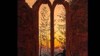 Caspar David Friedrich. Edvard Grieg Piano Concerto in A minor , Op. 16 - I - Allegro molto moderato