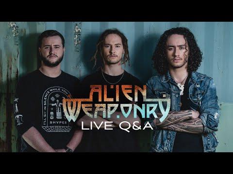 ALIEN WEAPONRY - Live Q&A