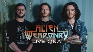 Miniatura do vídeo ALIEN WEAPONRY - Live Q&A