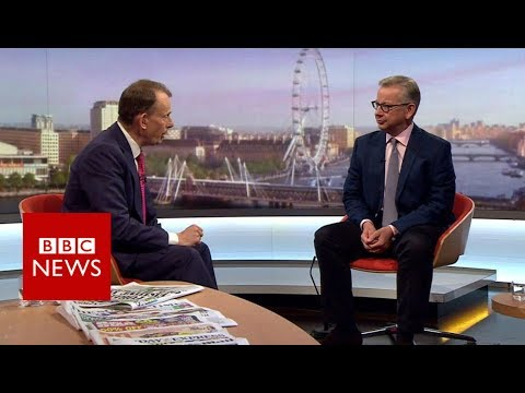Michael Gove's quick-fire answers on Andrew Marr Show - BBC News