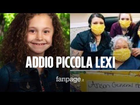 Addio Lexi, a 10 anni aveva cucito le mascherine alle infermiere: morta in un incidente stradale