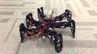 Hexapod - LinkIt Smart 7688 with 3D printed body
