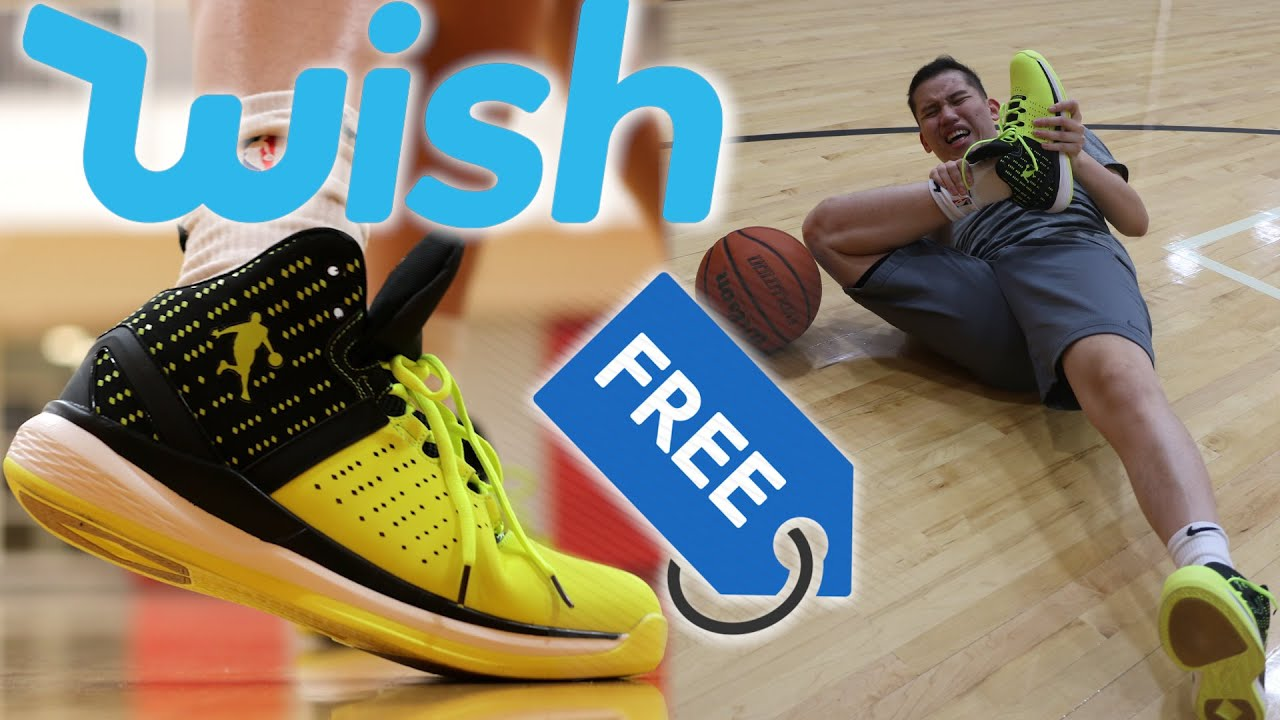 Testing FREE Basketball Shoes from WISH