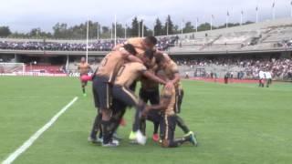 Gol de Pumas, gol de Daniel Ludueña - Pumas vs. Querétaro J16 AP15