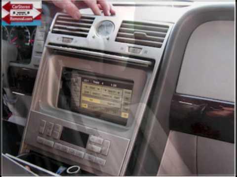Lincoln Navigator CD Player Removal