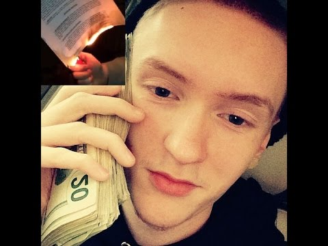 Slim Jesus Burns Record Label Contract and says